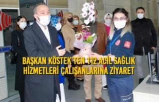 Başkan Köstek'ten 112 Acil Sağlık Hizmetleri...