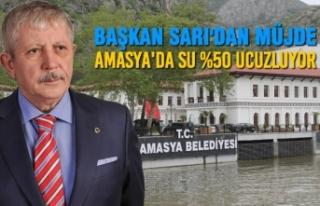 Başkan Sarı'dan Müjde: Amasya'da Su %50...