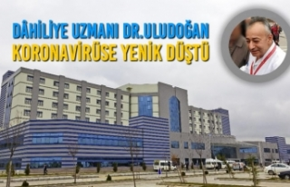Dâhiliye Uzmanı Dr. Ali Murat Uludoğan Koronavirüse...