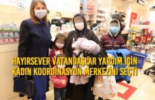 Hayırsever Vatandaşlar Yardım İçin Kadın Koordinasyon...