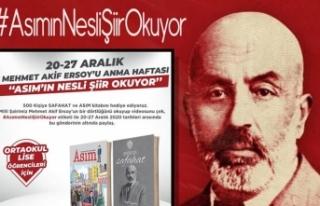 """Mehmet Akif Ersoy'u Anma Haftasında """"Asım'ın..."""