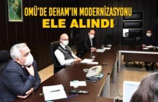 OMÜ'de DEHAM'ın Modernizasyonu Ele Alındı