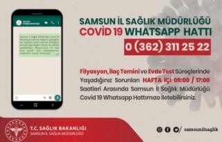 Samsun Sağlık İl Müdürlüğü Covid 19 Whatsapp...
