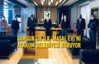 Samsun'un İlk 'Masal Evi'ni Atakum Belediyesi...