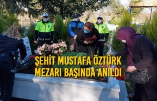 Şehit Mustafa Öztürk Mezarı Başında Anıldı
