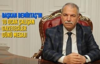 Başkan Demirtaş, Gazeteciler Doğru Ve Tarafsız...