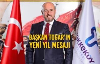 Başkan Togar'ın Yeni Yıl Mesajı