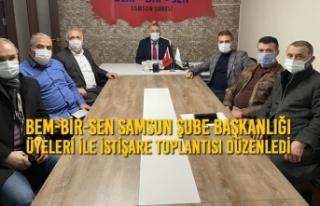 BEM-BİR-SEN Samsun Şube Başkanlığı Üyeleri...