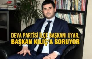 Deva Partisi İlçe Başkanı Muharrem Uyar, Başkan...