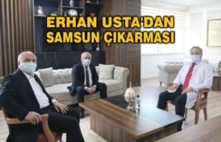 Erhan Usta'dan Samsun Çıkarması