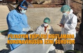 Filyasyon Ekipleri Kısıtlamada Koronavirüsün İzini...