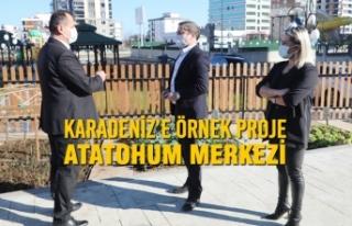 Karadeniz'e Örnek Proje Atakum Belediyesi AtaTohum...