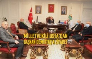 Milletvekili Usta'dan Başkan Demirtaş'a Ziyaret