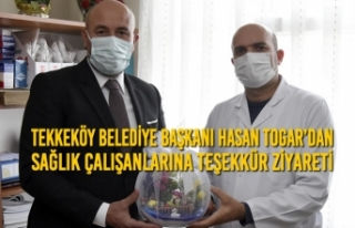 Tekkeköy Belediye Başkanı Hasan Togar'dan Sağlık...