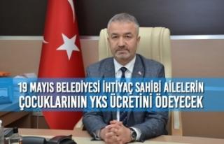 19 Mayıs Belediyesi İhtiyaç Sahibi Ailelerin Çocuklarının...