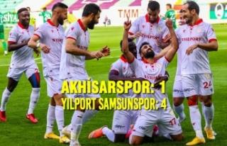 Akhisarspor: 1 – Yılport Samsunspor: 4