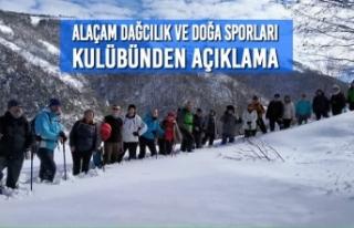 Alaçam Dağcılık ve Doğa Sporları Kulübünden...
