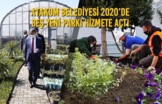 Atakum Belediyesi 2020'de Beş Yeni Parkı Hizmete...