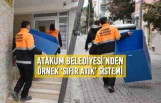 Atakum Belediyesi'nden Örnek 'Sıfır Atık'...
