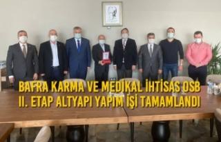Bafra Karma ve Medikal İhtisas OSB II. Etap Altyapı...