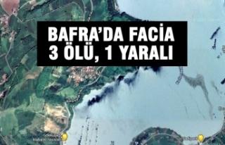 Bafra'da Facia; 3 Ölü, 1 Yaralı