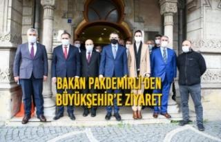 Bakan Pakdemirli'den Büyükşehir'e Ziyaret
