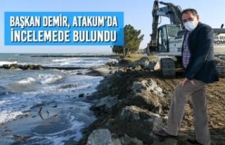 Başkan Demir, Atakum'da İncelemede Bulundu