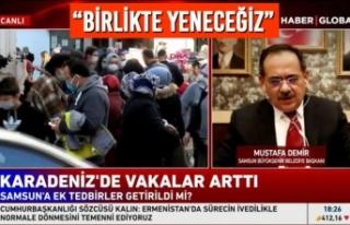 Başkan Demir, Haber Global TV Canlı Yayınında...
