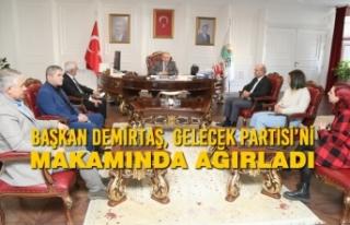 Başkan Demirtaş, Gelecek Partisi'ni Makamında...