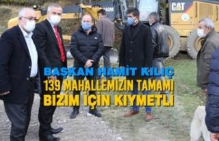"""Başkan Kılıç: """"139 Mahallemizin Tamamı Bizim..."""