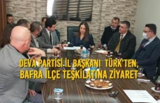Deva Partisi İl Başkanı Kebire Birer Türk'ten,...