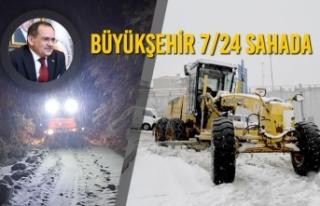Kar Nedeniyle Ulaşıma Kapanan 263 Mahallenin Yolu...