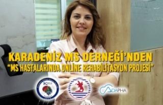 """Karadeniz MS Derneği'nden """"MS Hastalarında Online..."""