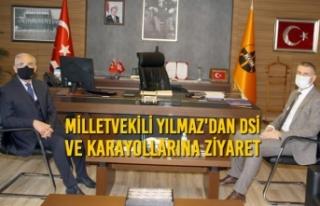 Milletvekili Yılmaz'dan DSİ ve Karayollarına...