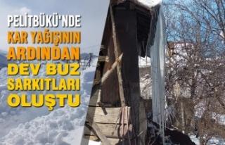 Pelitbükü'nde Kar Yağışının Ardından Dev...