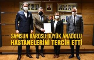 Samsun Barosu Büyük Anadolu Hastanelerini Tercih...
