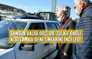 Samsun Valisi Doç. Dr. Zülkif Dağlı Kısıtlaması...