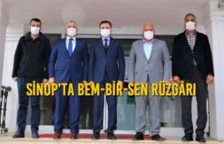 Sinop'ta BEM-BİR-SEN Rüzgârı