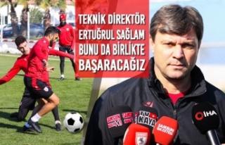 """Teknik Direktör Ertuğrul Sağlam; """"Bunu Da Birlikte..."""