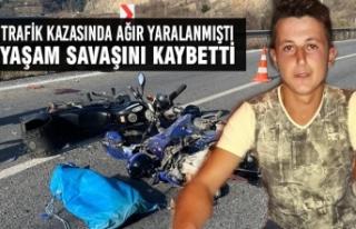 Trafik Kazasında Ağır Yaralanmıştı, Yaşam Savaşını...