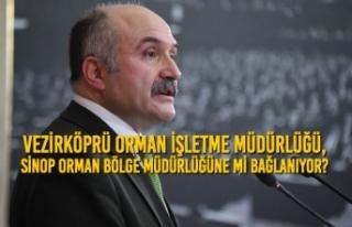 Vezirköprü Orman İşletme Müdürlüğü, Sinop...