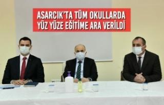 Asarcık'ta Tüm Okullarda Yüz Yüze Eğitime Ara...