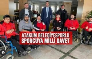 Atakum Belediyesporlu Sporcuya Milli Davet