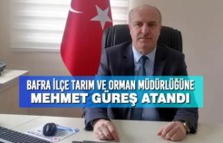 Bafra İlçe Tarım ve Orman Müdürlüğüne Mehmet...