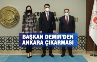 Başkan Demir'den Ankara Çıkarması