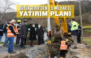 Büyükşehir'den 1,5 Milyar TL Yatırım Planı