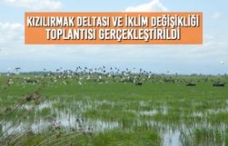 Kızılırmak Deltası ve İklim Değişikliği Toplantısı...