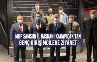 MHP Samsun İl Başkanı Karapıçak'tan Genç...