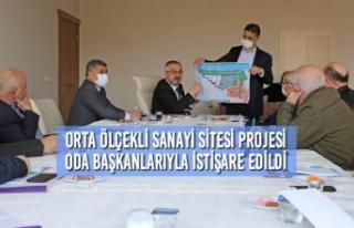 Orta Ölçekli Sanayi Sitesi Projesi Oda Başkanlarıyla...