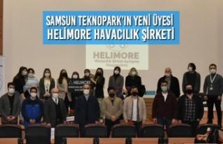 Samsun Teknopark'ın Yeni Üyesi Helimore Havacılık...